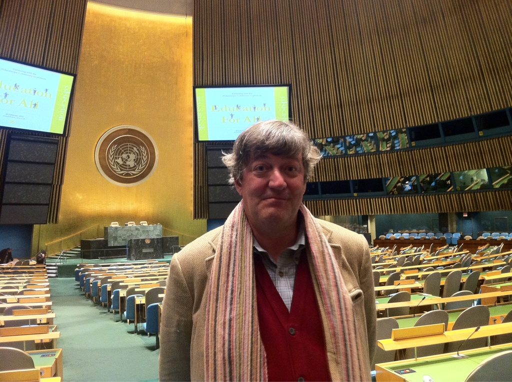 In the General Assembly hall