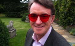 Peter Mandelson in the designeriest...