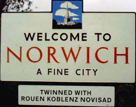 Welcome to Norwich...