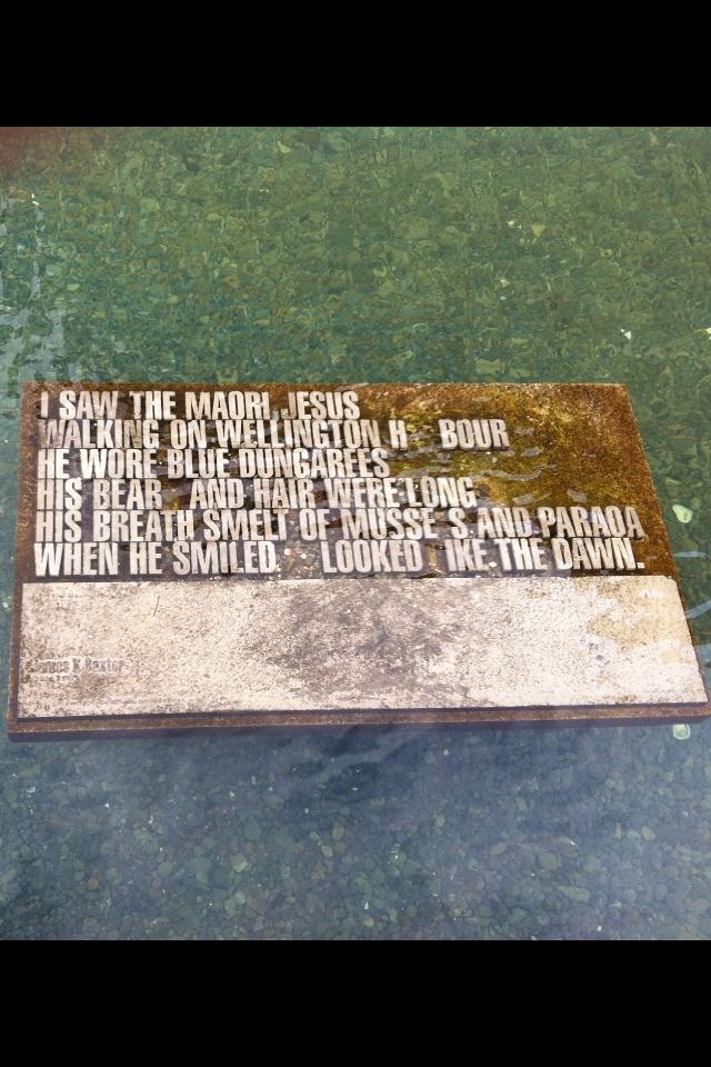 A sort of Maori plaque doodad...