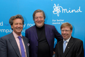 Melvyn Bragg, Stephen Fry and Paul Farmer