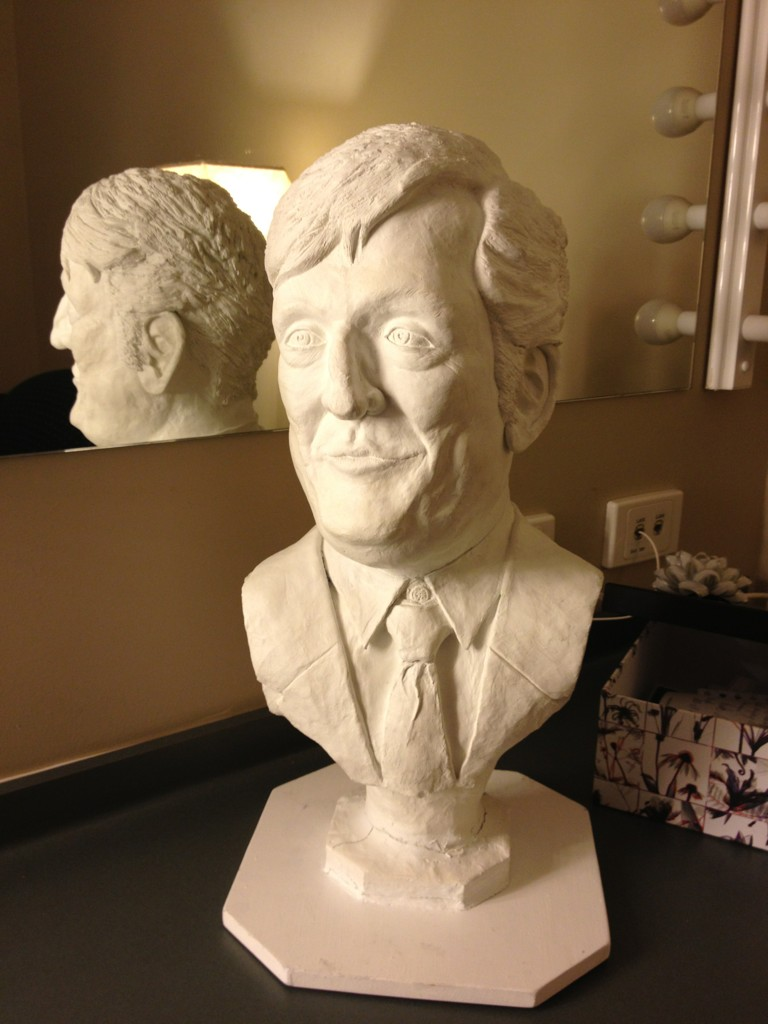 I do adore my followers:  this bust...