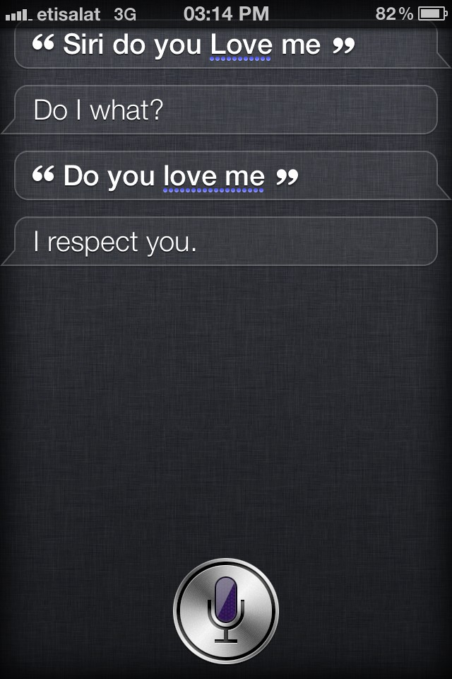 A fair response from Siri I suppose …