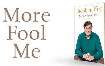 Stephen Fry - More Fool Me Banner 2